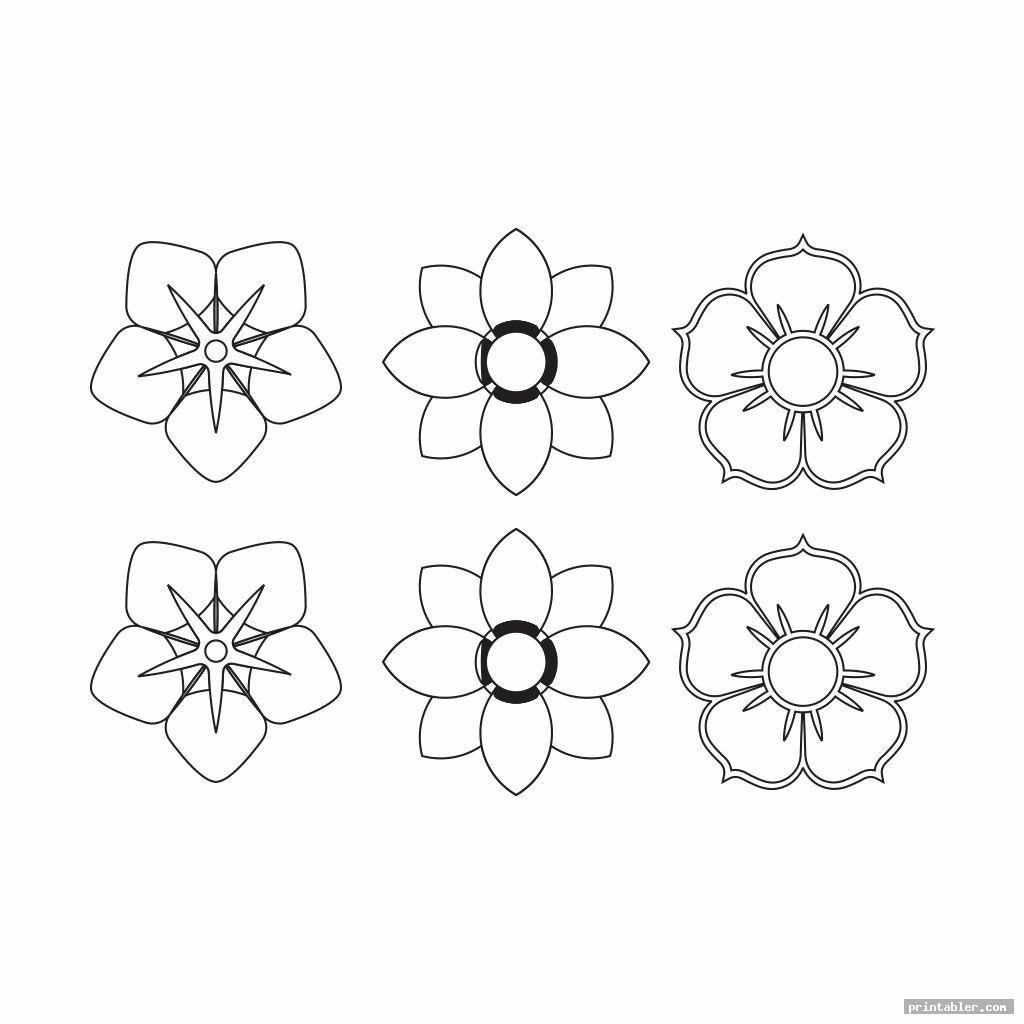 cute paper flower templates printable