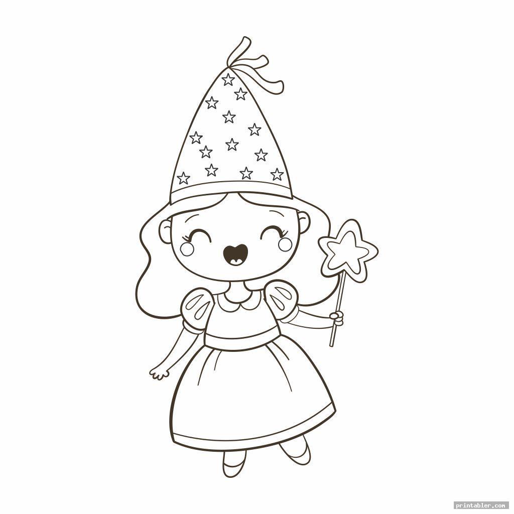 cute princess coloring printables