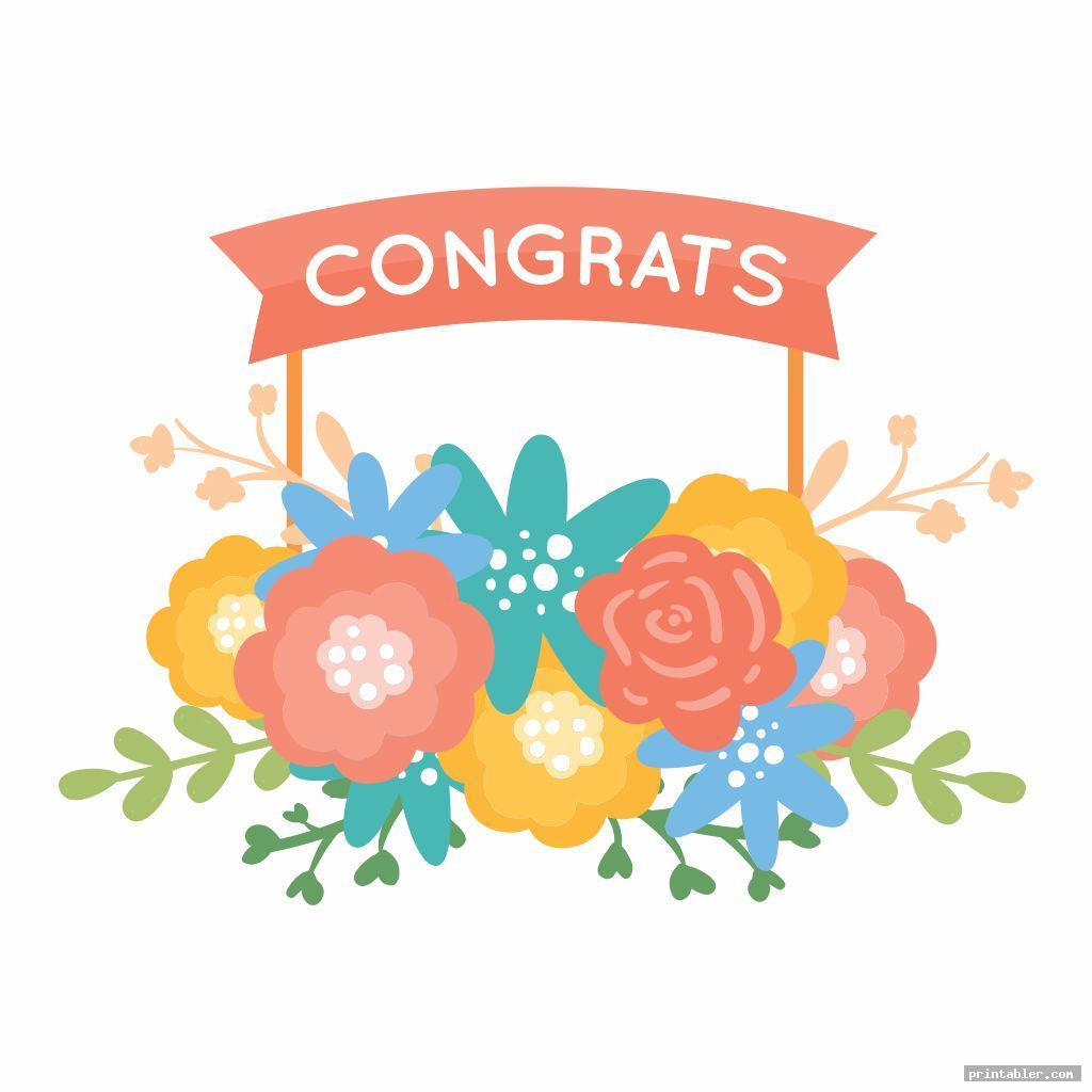 cute printable congratulations signs