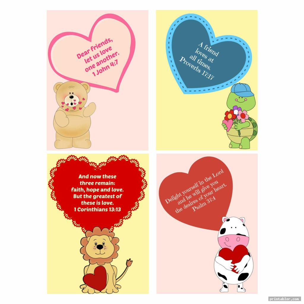 Printable Valentine From God