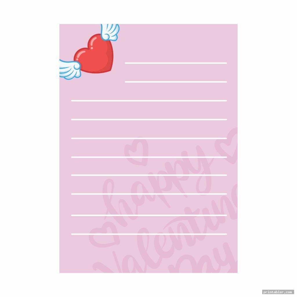 cute printable valentine s day stationary