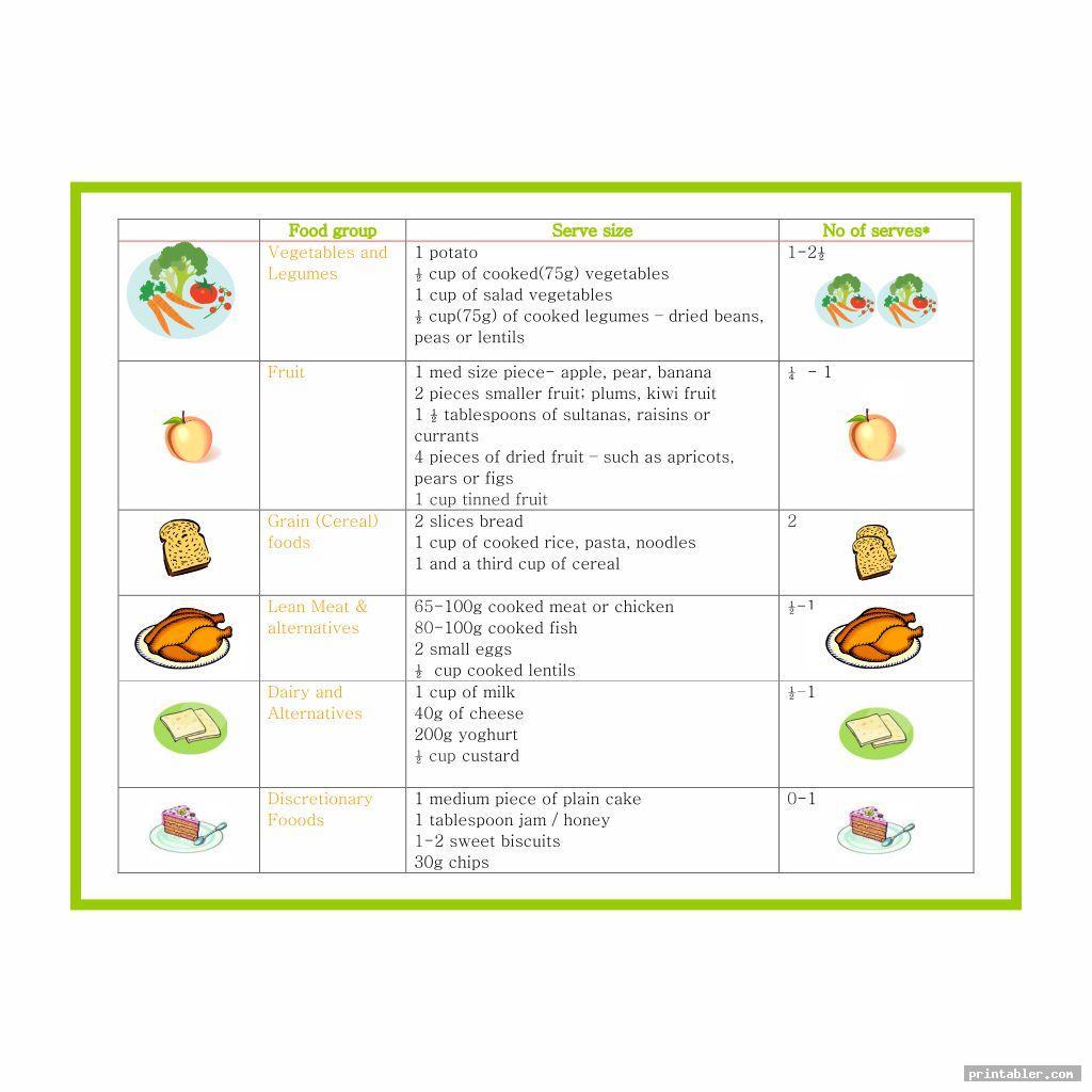 cute sample daycare menus printable