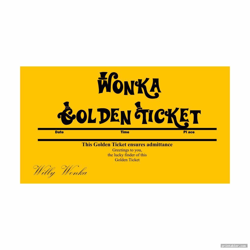 editable printable wonka golden ticket for kids