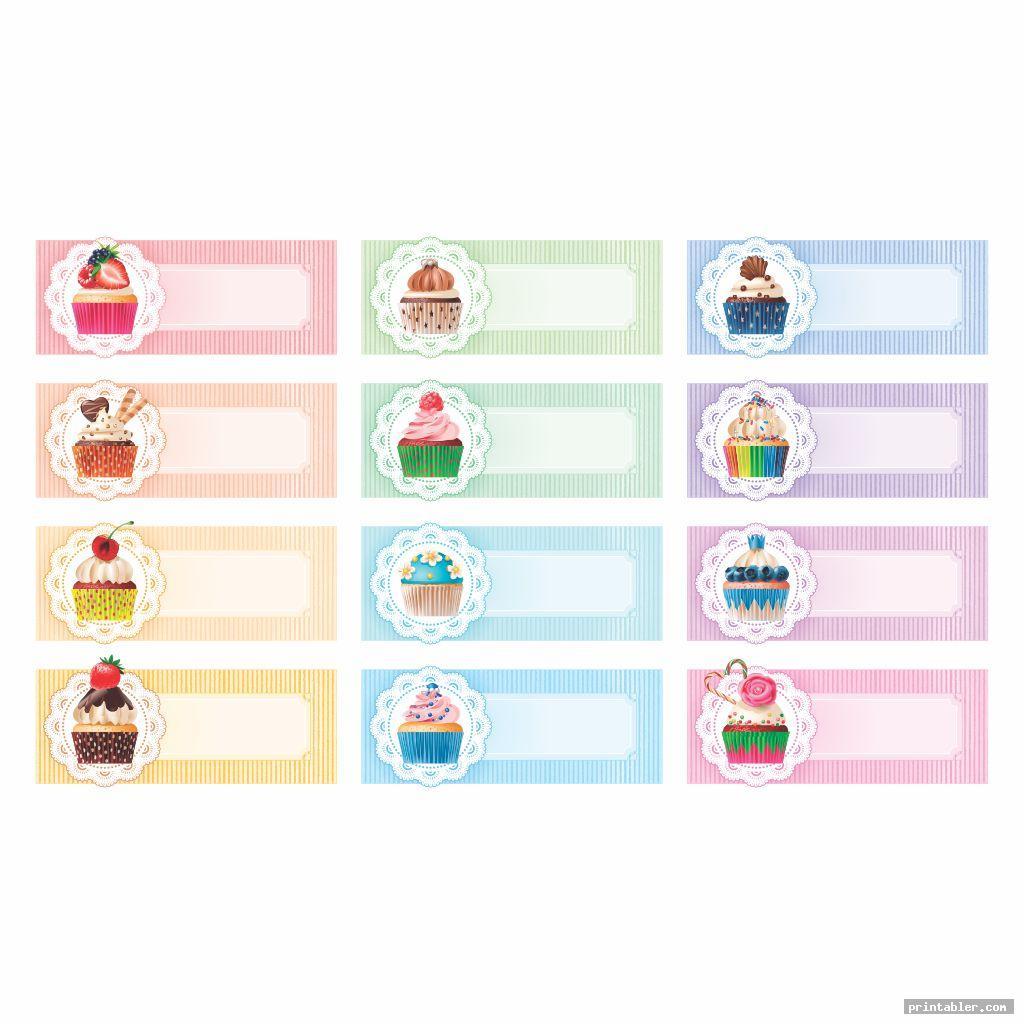 elegant printable birthday chart cupcake