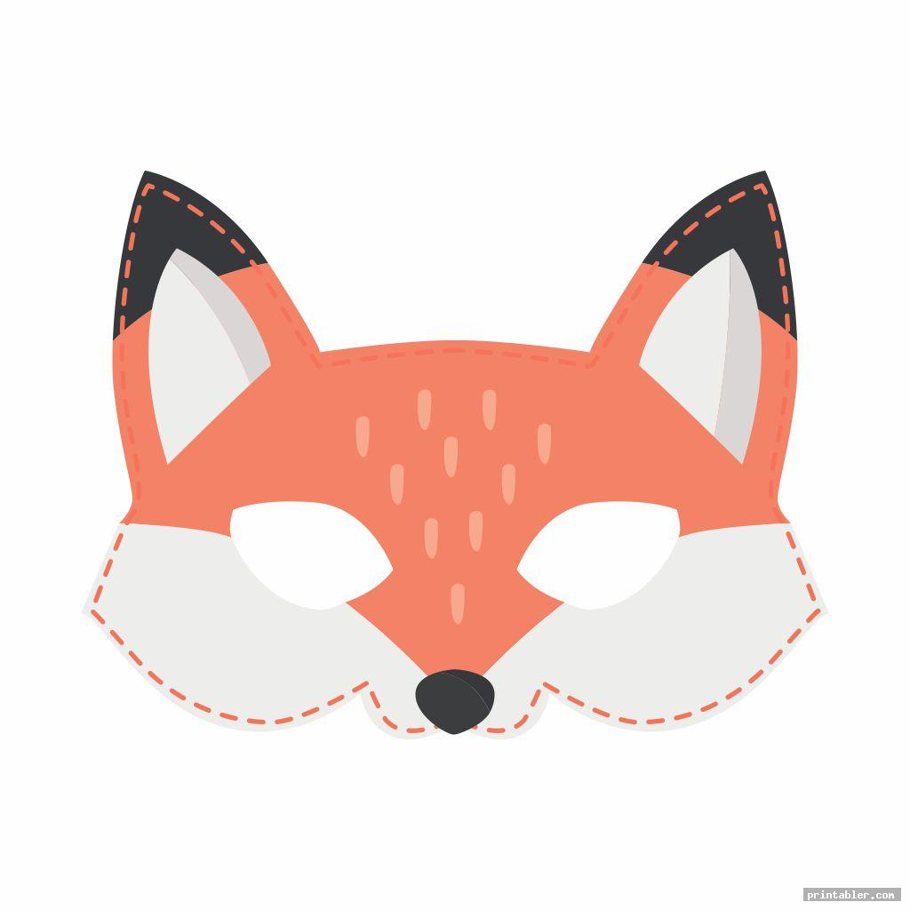 Woodland Animal Mask Printables