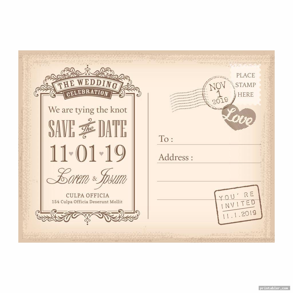 postcard vintage ephemera printable