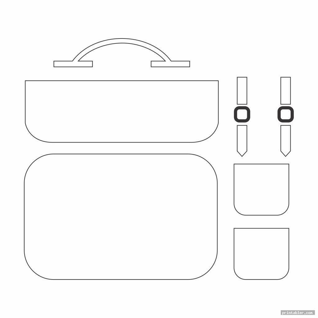 postman leather handbag patterns printable