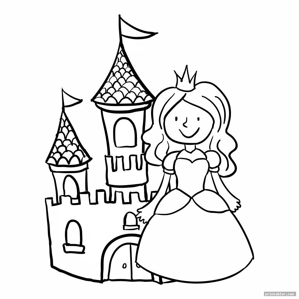 Princess Coloring Printables