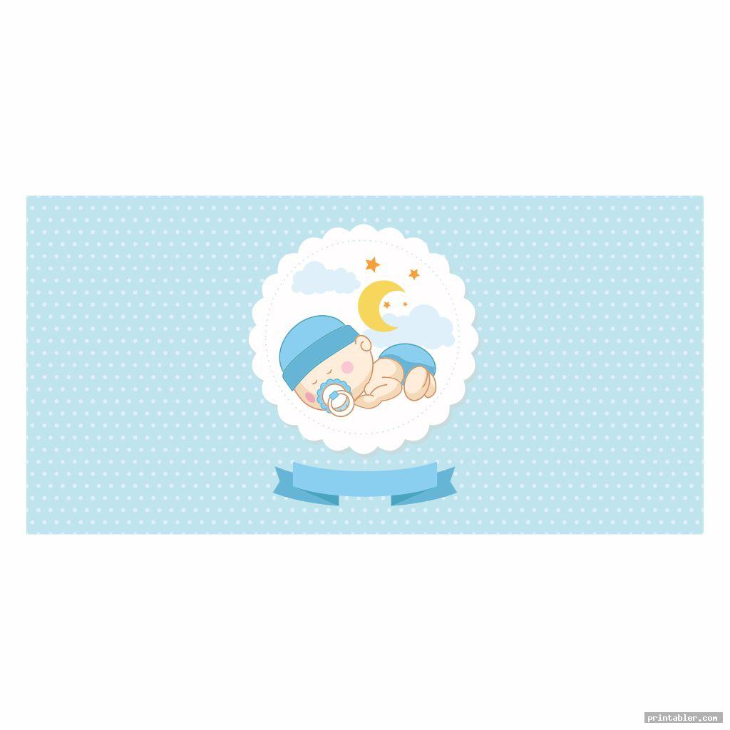 printable baby shower banner template image free