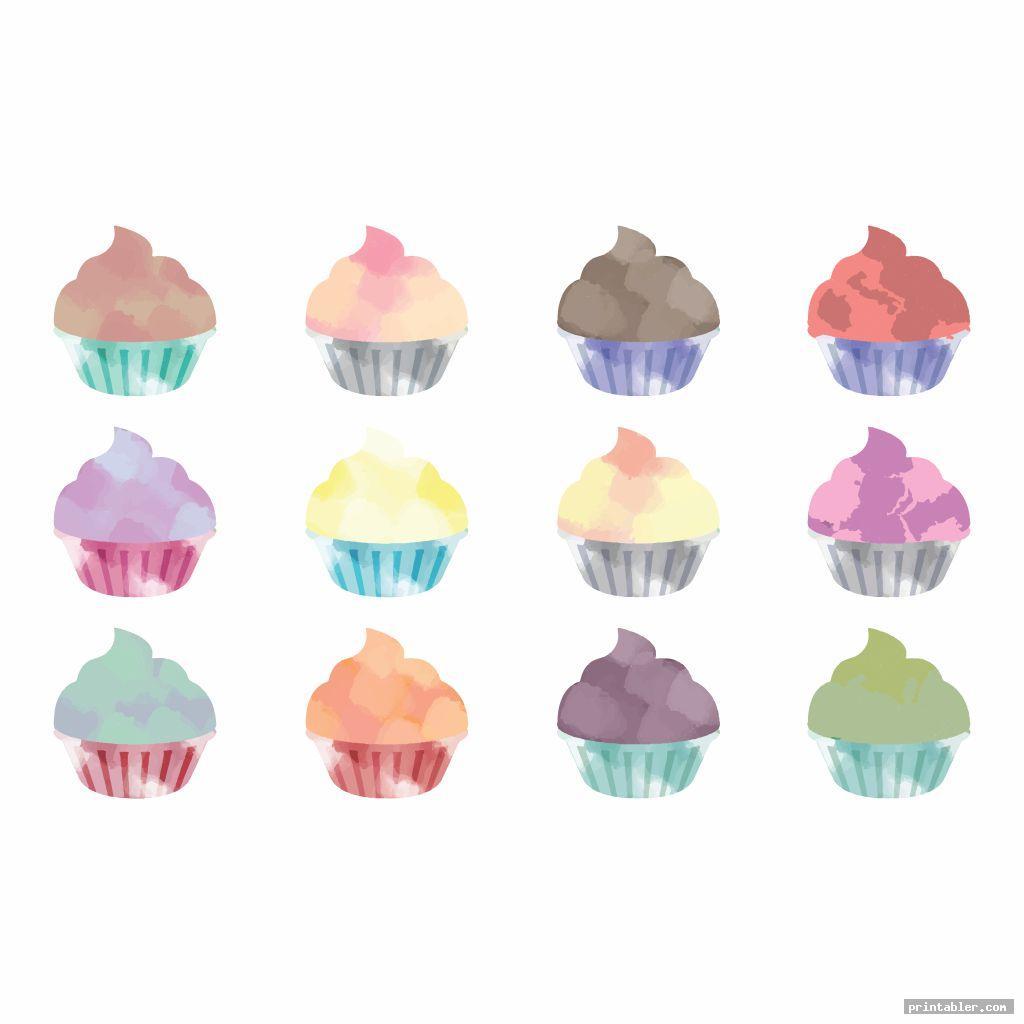 printable birthday chart cupcake image free