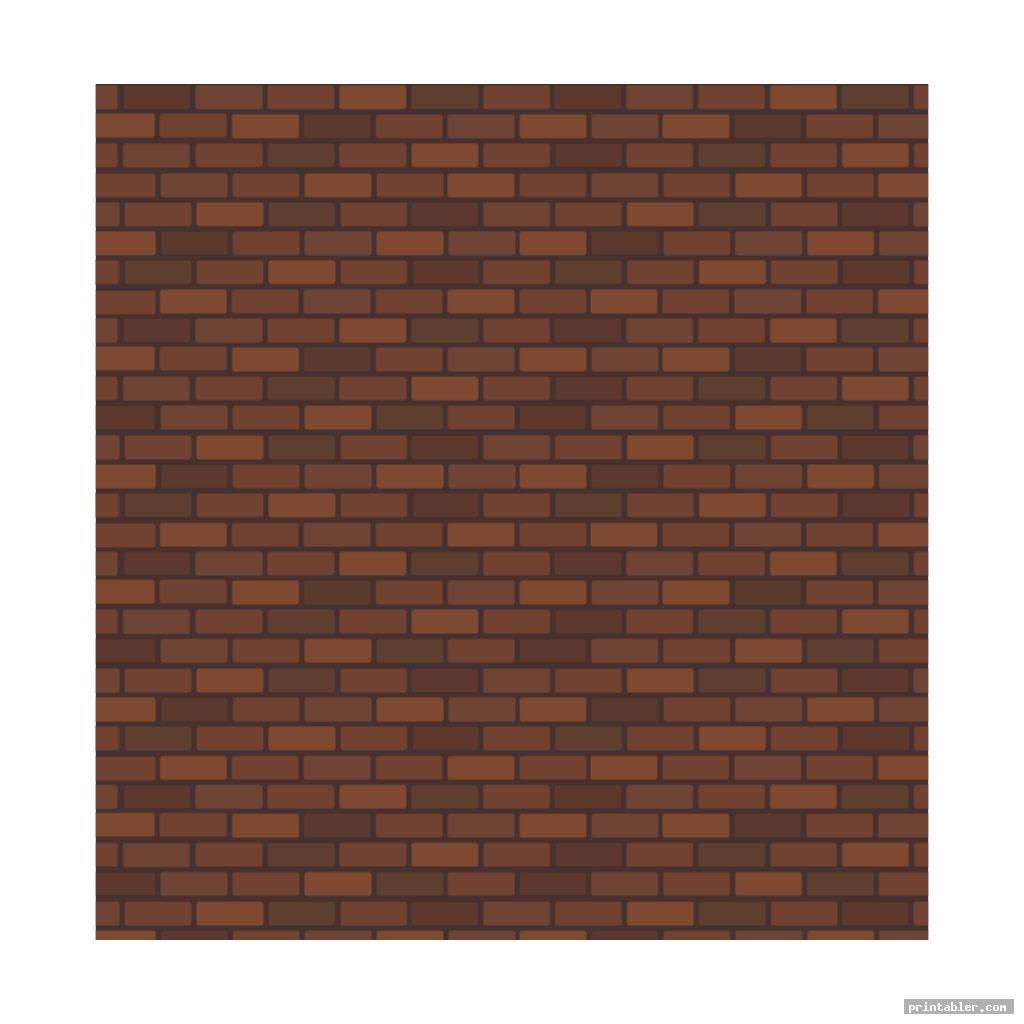 printable brick template for teachers image free