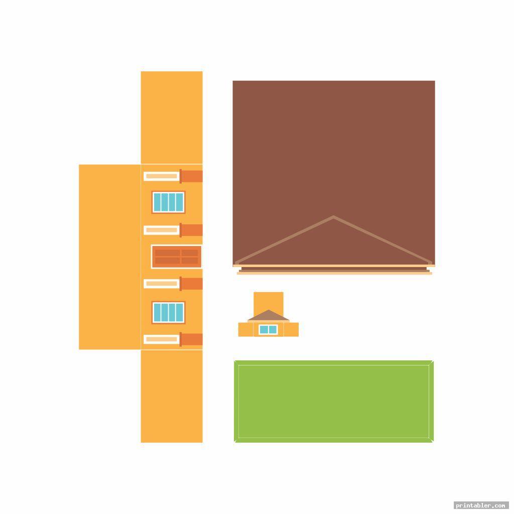 printable building models image free
