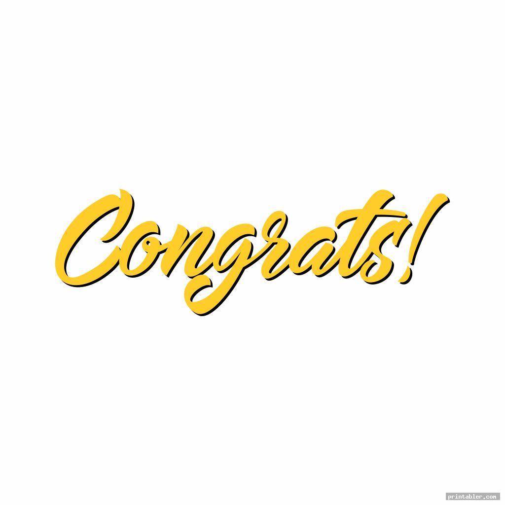 printable congratulations signs image free