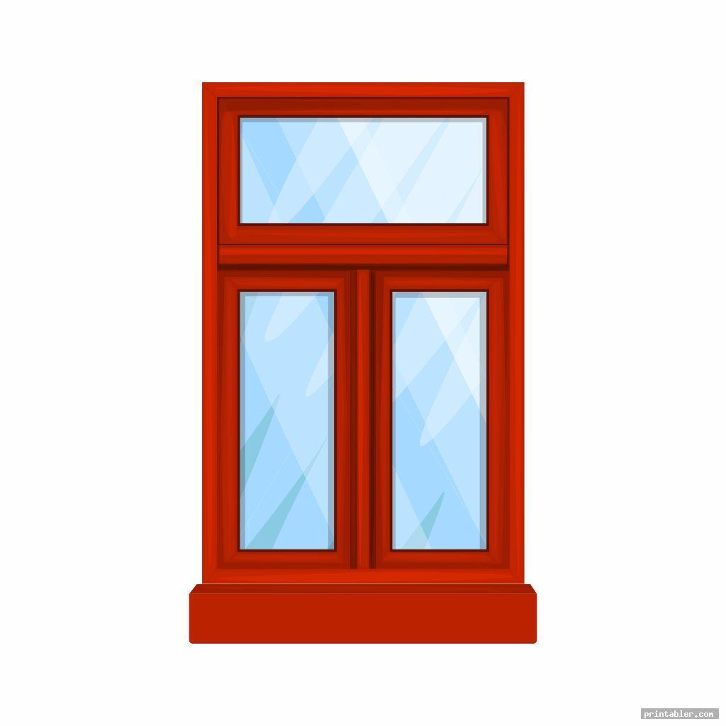 printable dollhouse windows image free