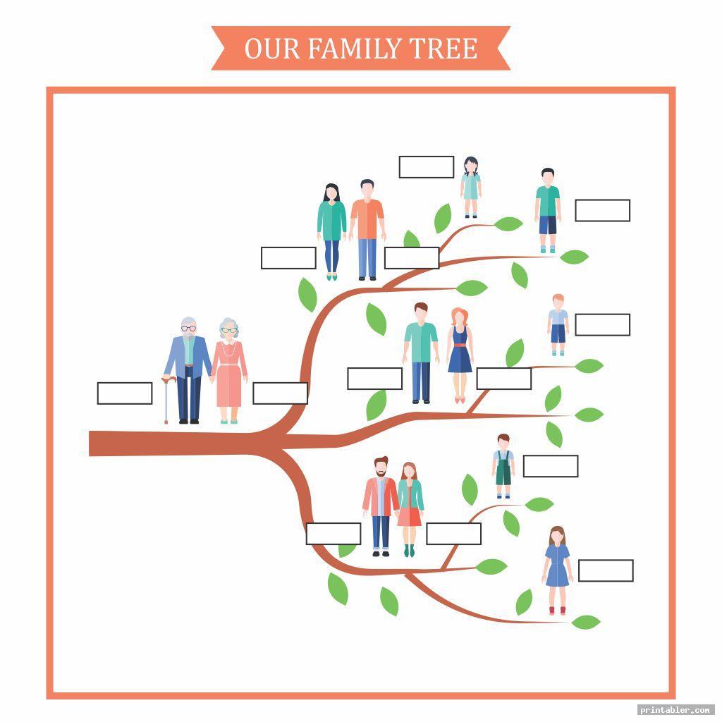 printable family tree worksheet image free