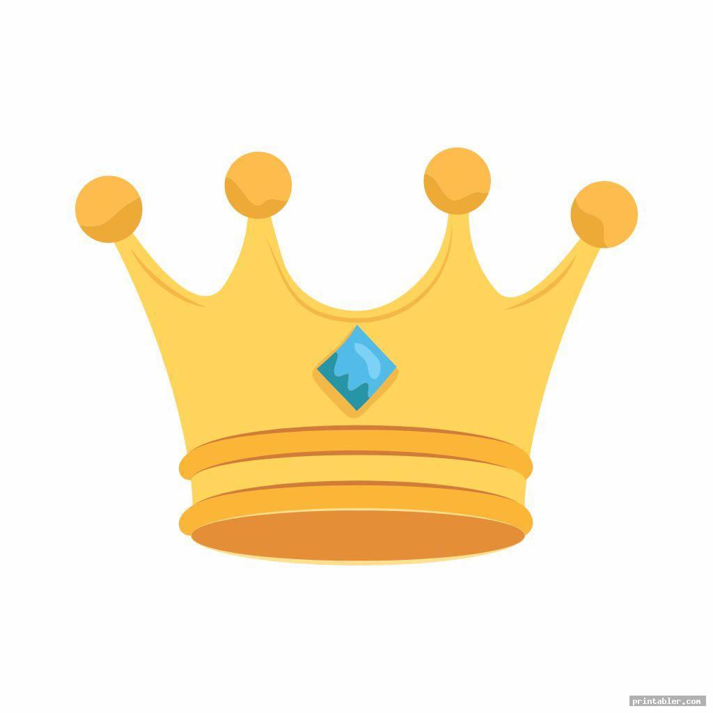 printable king crown template image free
