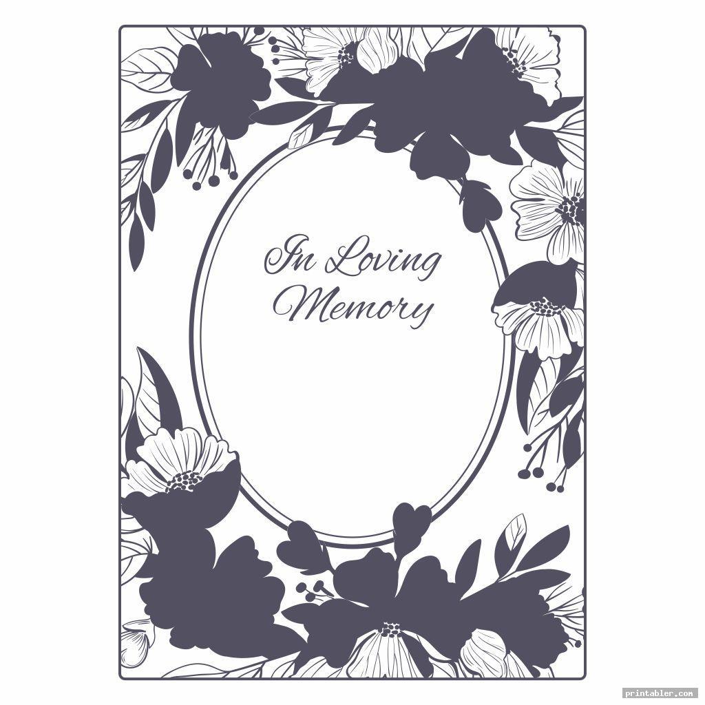 printable memorial prayer cards image free