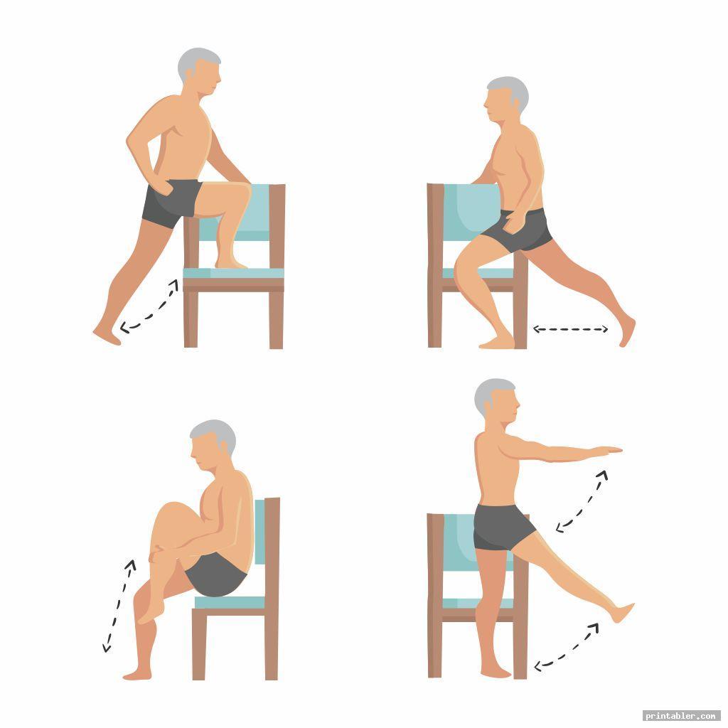 Printable Seated Exercises for Seniors