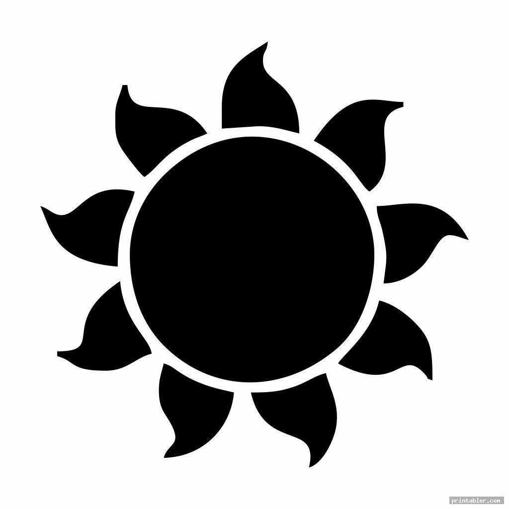 printable sun patterns image free