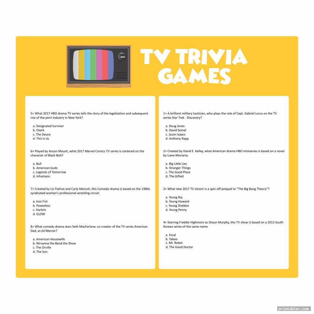 printable tv trivia games image free