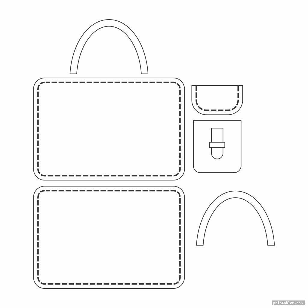 printable walker bag pattern image free