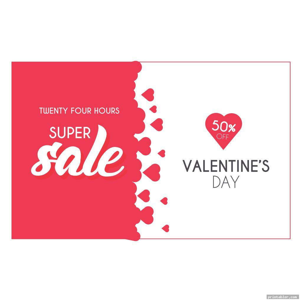 Valentine Flyer Template Printable