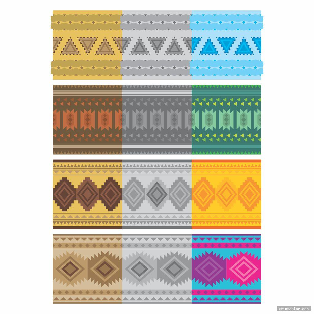 Printable Native American Designs