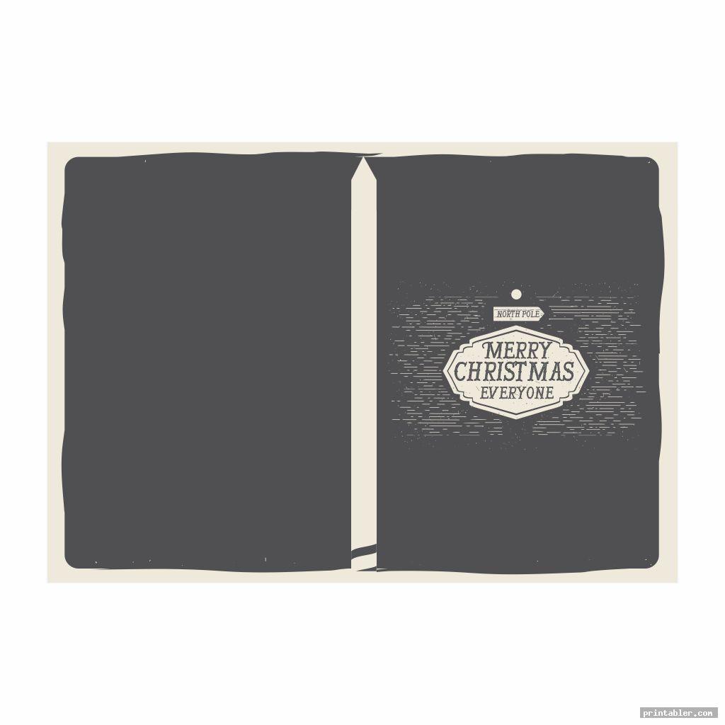 simple christmas miniature printable book covers