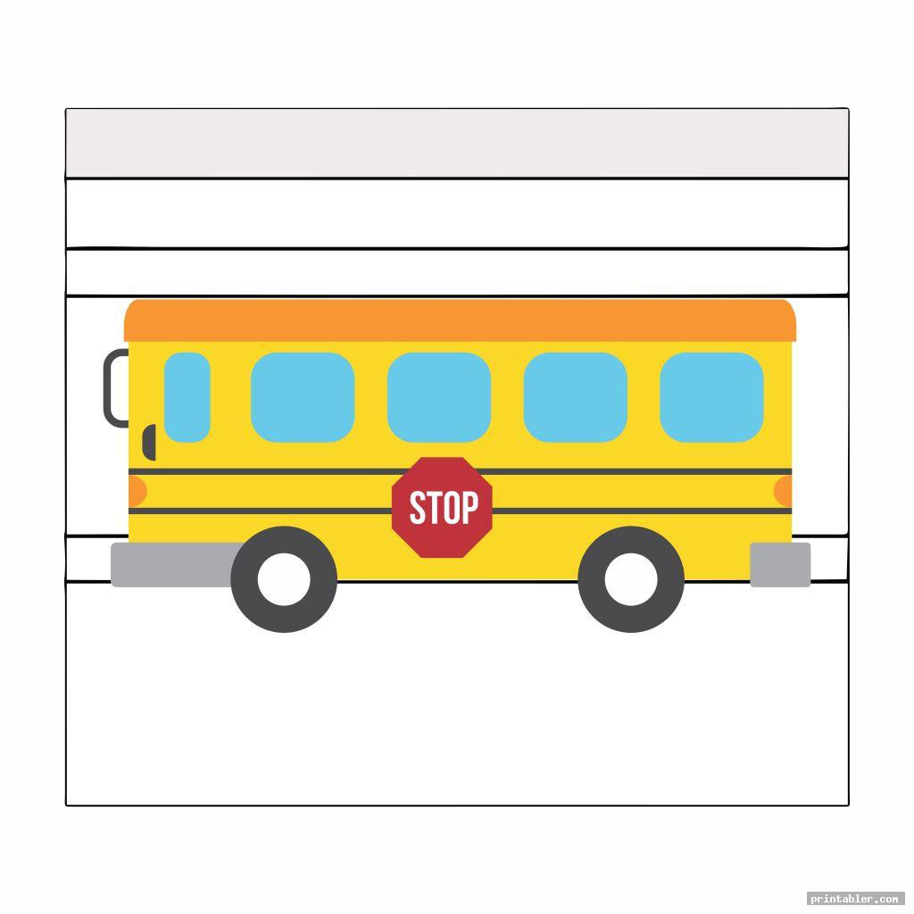 Hershey Bus Printable Candy Bar Wrapper Template
