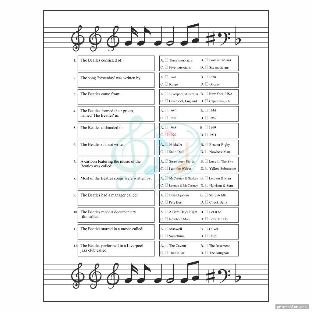 simple name that song games printable