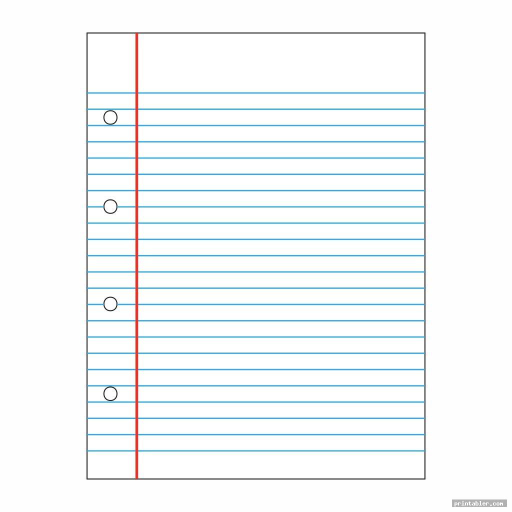 simple printable handwriting paper
