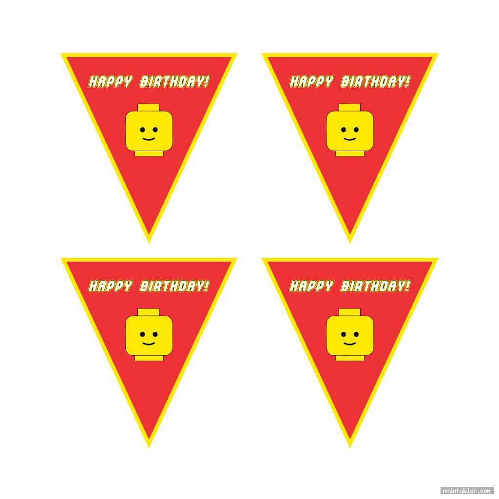 simple printable lego happy birthday sign