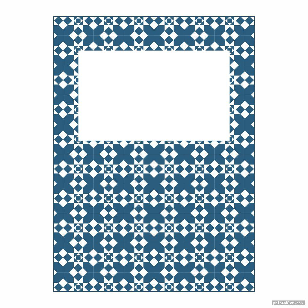 simple spanish printable binder covers for boys