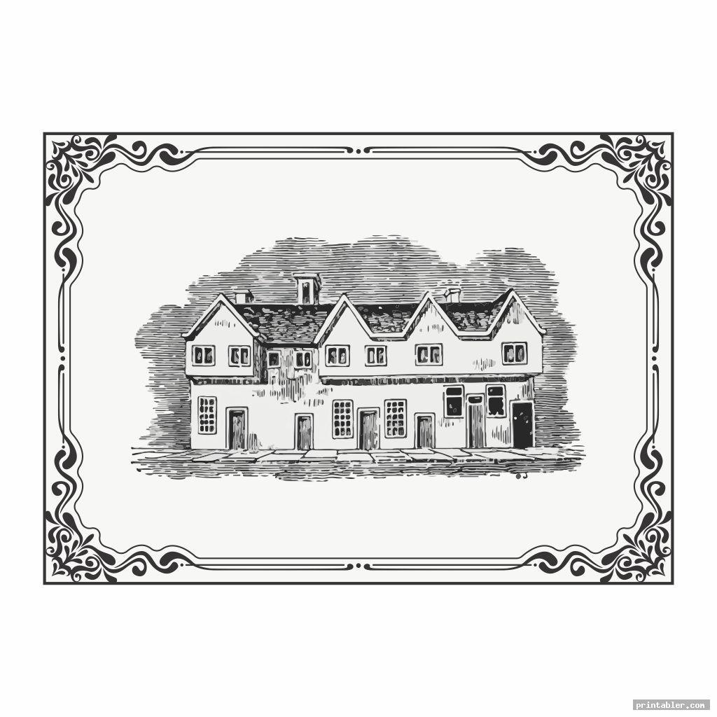simple vintage ephemera printable