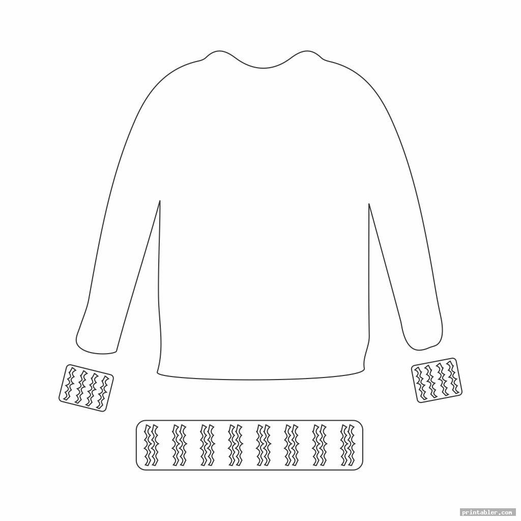 sweater printable doll clothes crochet pattern