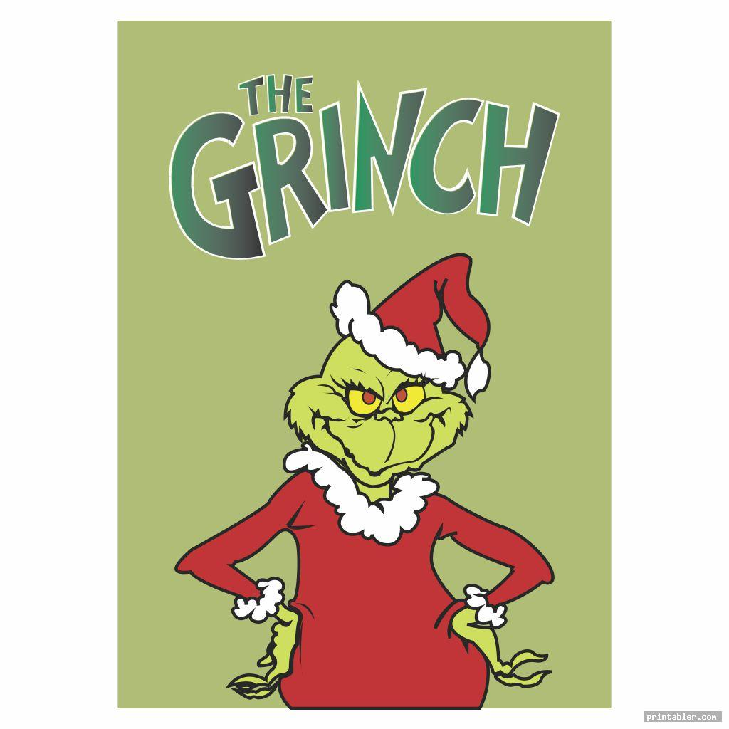 the grinch dr seuss book covers printables