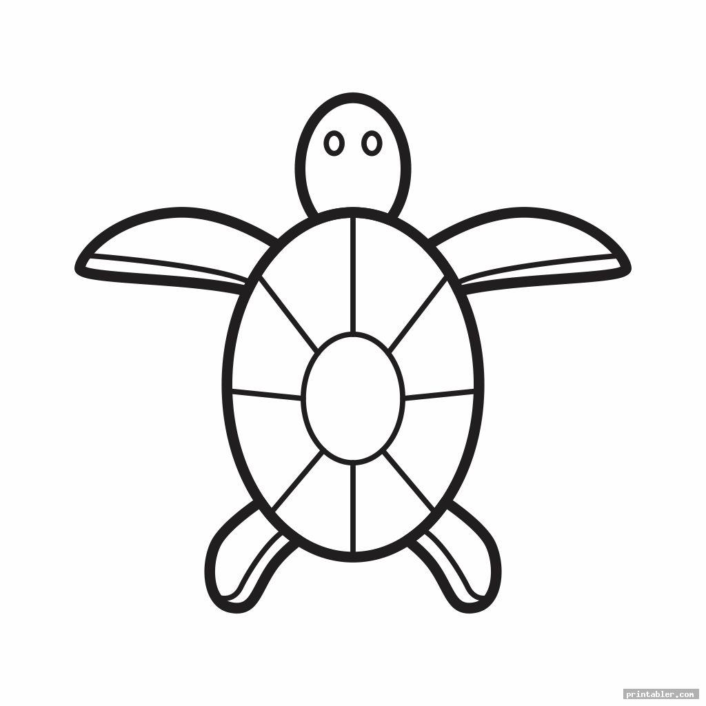 Turtle Template Printable