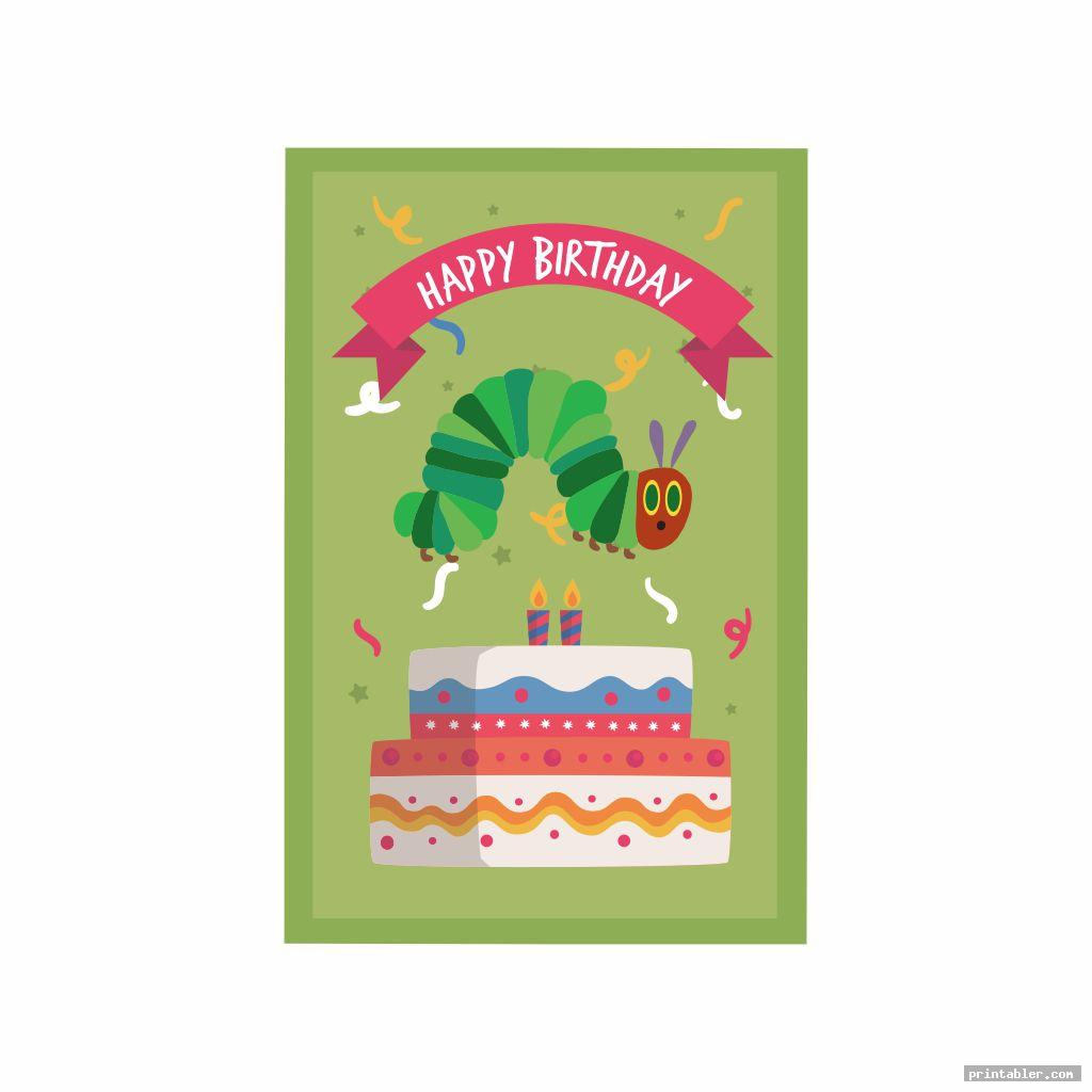 very hungry caterpillar birthday printables image free