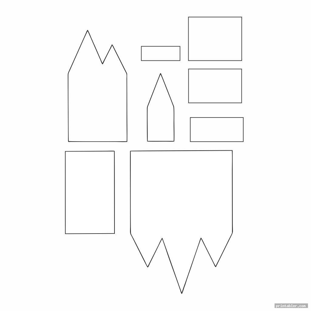 vintage 3d printable house templates