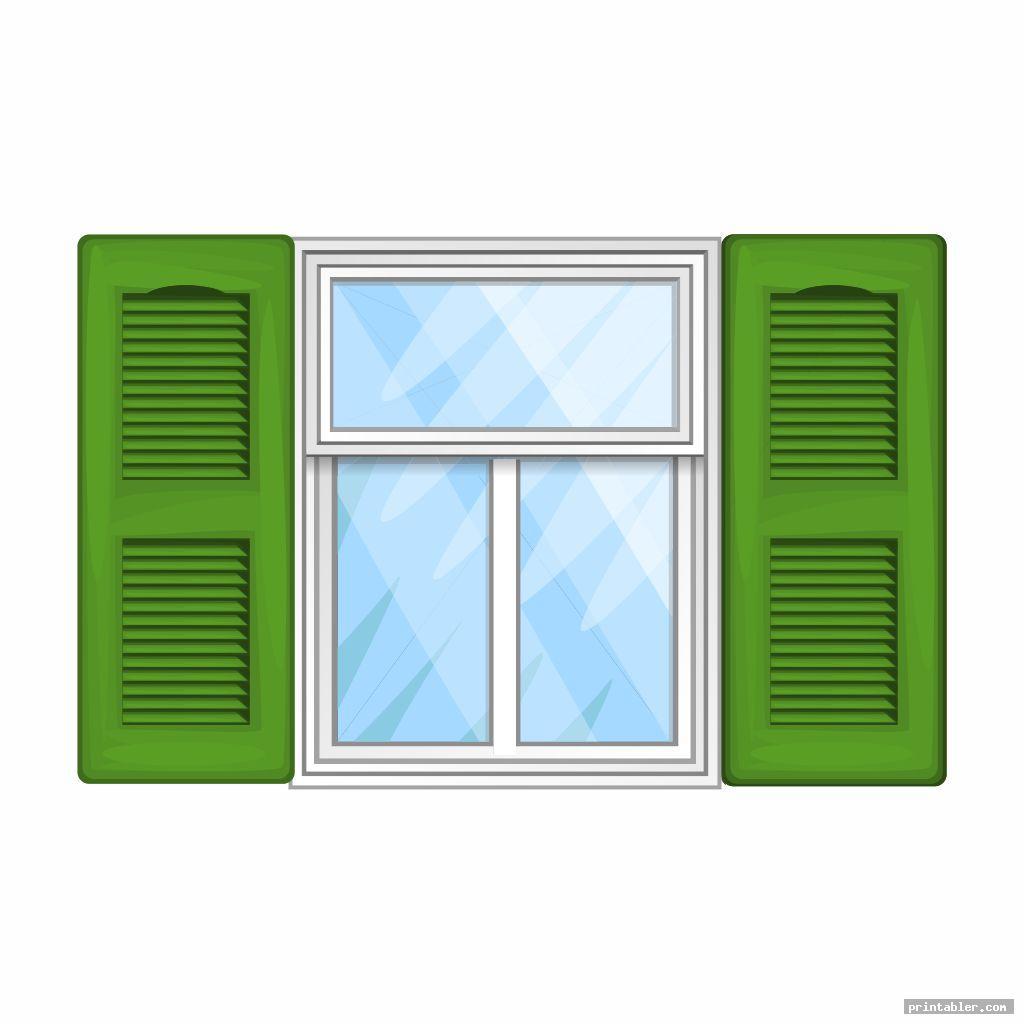 vintage printable dollhouse windows