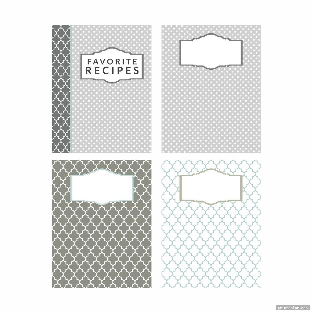 vintage printable recipe divider templates