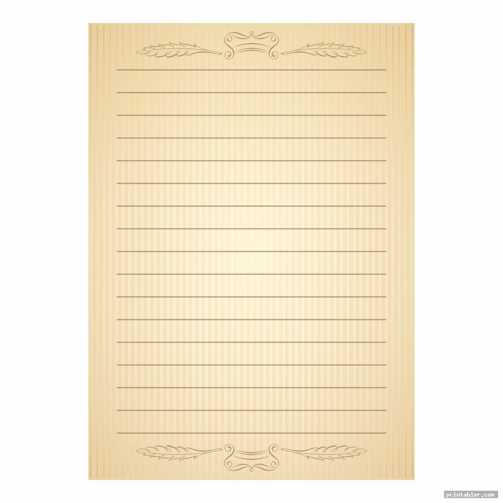 vintage writing paper printable image free