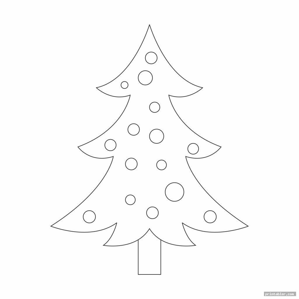 angel tree template printable image free