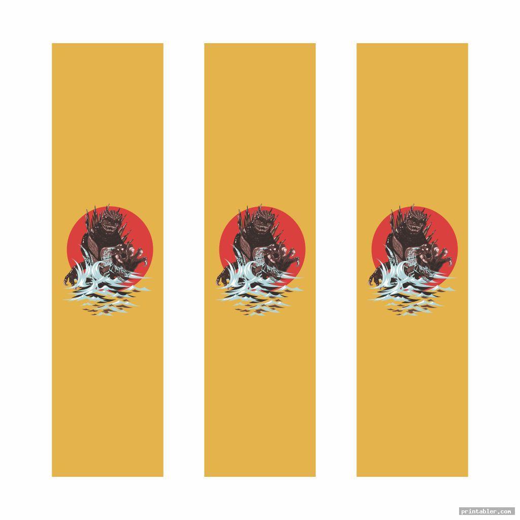 Anime Bookmarks Printable