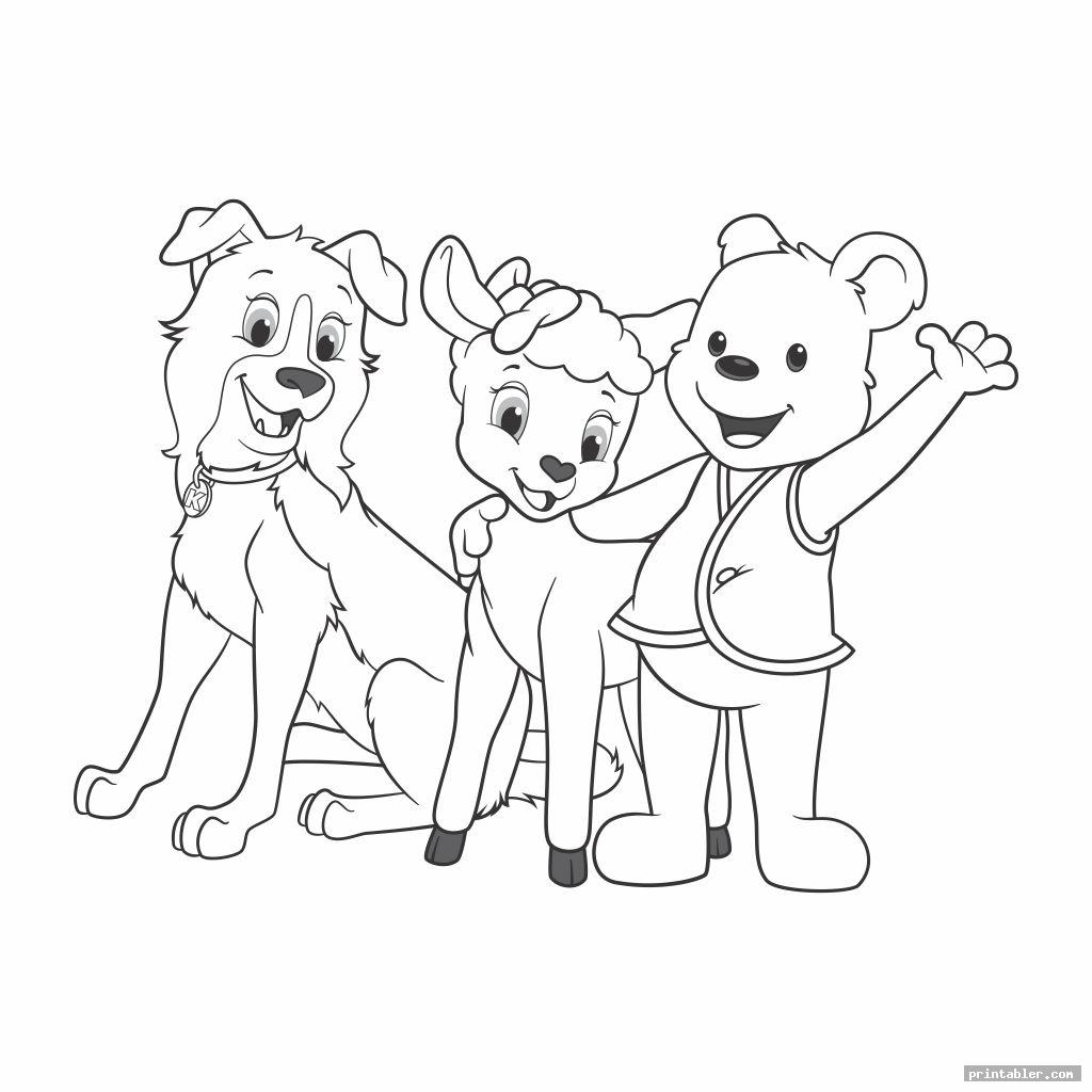 Awana Cubbies Coloring Pages Printable
