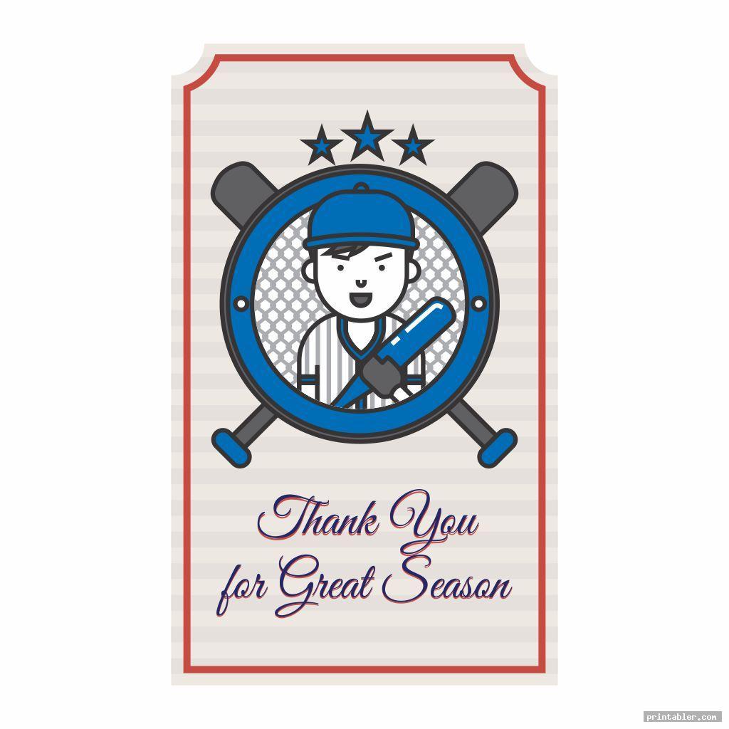 Baseball Gift Tags Printable