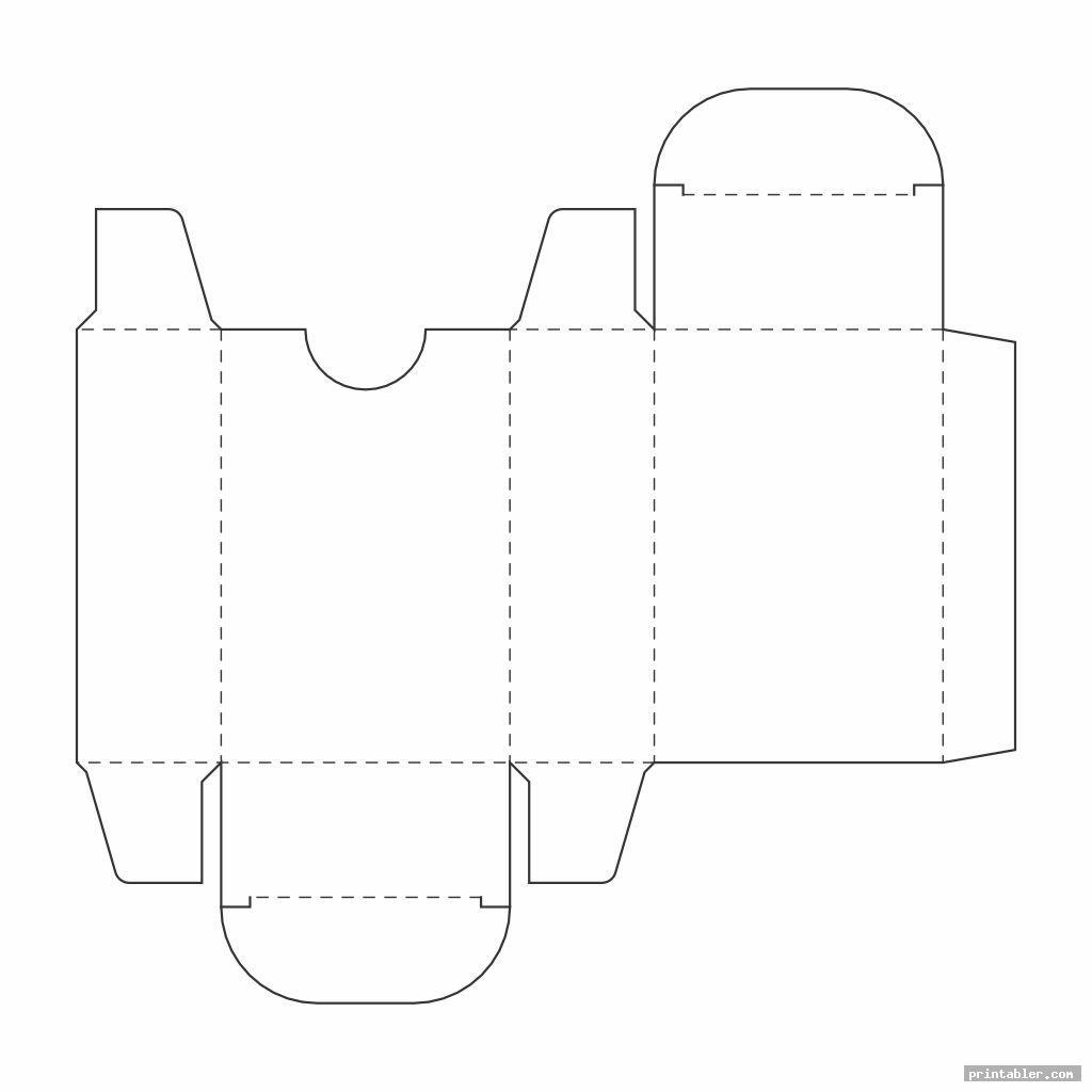 basic large box template printable