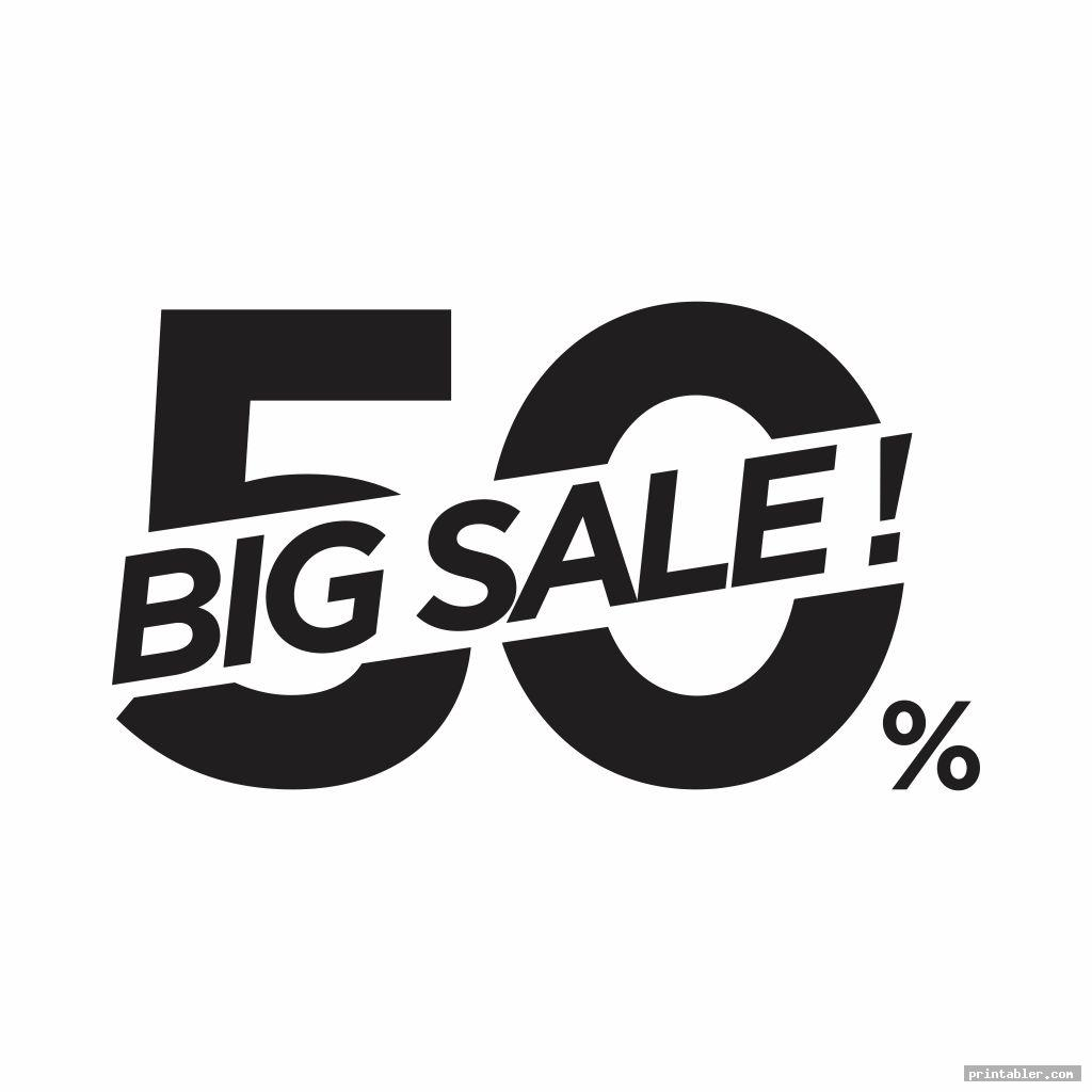 big retail sale signs printable