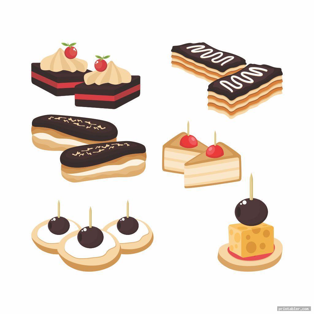cakes american girl doll food s printable
