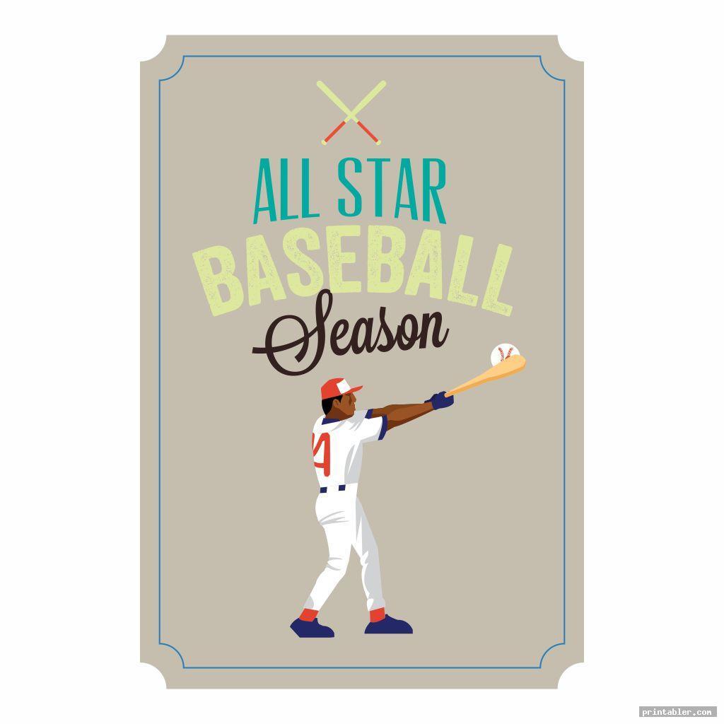 colorful baseball gift tags printable